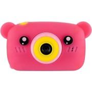 Детский цифровой фотоаппарат Zoo Kids мишка (розовый)
