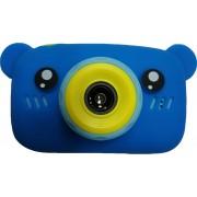 Детский цифровой фотоаппарат Zoo Kids мишка (синий)