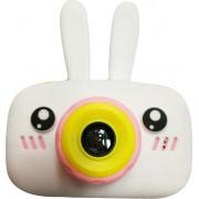 Детский цифровой фотоаппарат Zoo Kids зайка (белый)