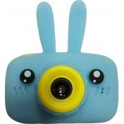 Детский цифровой фотоаппарат Zoo Kids зайка (голубой)