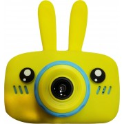 Детский цифровой фотоаппарат Zoo Kids зайка (желтый)