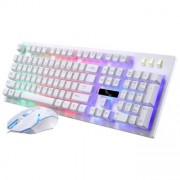 Клавиатура и мышь JK-1980 белая