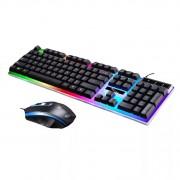 Клавиатура и мышь JK-1980 черная