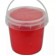 Легкий пластилин Super Light Clay в ведре 1 кг (красный)