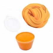 Легкий пластилин Super Light Clay в ведре 500 гр (оранжевый)