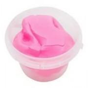 Легкий пластилин Super Light Clay в ведре 1 кг (розовый)