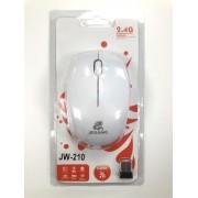 Мышь компьютерная беспроводная jeqang белая