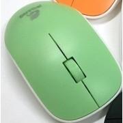 Мышь компьютерная беспроводная jeqang зеленая