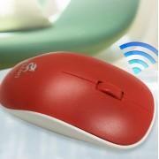 Мышь компьютерная беспроводная jeqang красная