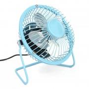 Настольный USB-вентилятор Mini Fan (Голубой)