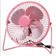 Настольный USB-вентилятор Mini Fan (Розовый)