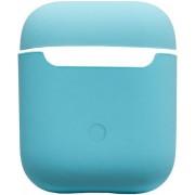 Силиконовый чехол для наушников AirPods 2 Silicone Case бирюзовый
