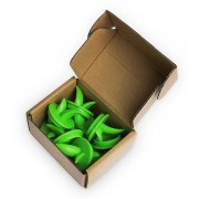 Декоративная заглушка  для Vegebox набор VEGE-PHC10 1х10 шт (Зеленый)