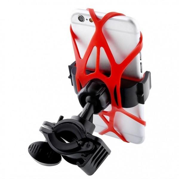 Велосипедный держатель универсальный young player XWJ-0201 для GPS Mobile MP3 MP4 (Оранжевый)