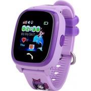 Водонепроницаемые детские умные GPS часы Wonlex GW400S (Фиолетовый)