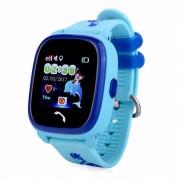 Водонепроницаемые детские умные GPS часы Wonlex GW400S (Голубой)