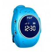 Водонепроницаемые детские умные GPS часы Wonlex q520s (Голубой)