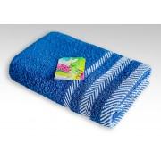 Полотенце махровое Фишбоун Василиса 50х90 см (Синий)