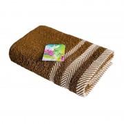 Полотенце махровое Фишбоун Василиса 70х130 см (Какао)