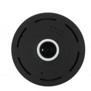 Беспроводная панорамная IP камера Wi-Fi panoramic camera V380 2 мегапикселя (Черный)