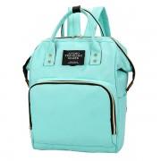 Сумка-рюкзак для мамы living traveling share (Бирюзовый)