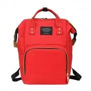 Сумка-рюкзак для мамы living traveling share (Красный)