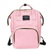 Сумка-рюкзак для мамы living traveling share (Светло-розовый)