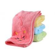 Полотенце Музыкальный котенок 25х50 2123 (Розовый)