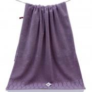 Полотенце Синель махра 34х75 (Фиолетовый)