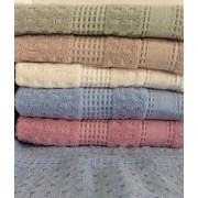 Полотенце махровое Семья Текстиль 50х90 см (Голубой)