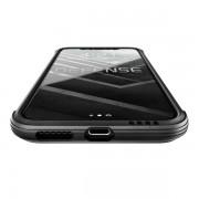 Противоударный чехол накладка X-Doria Defense Shield Clear для iPhone X iPhone XS (Черный)