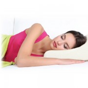 Анатомическая подушка Relax с эффектом памяти ортопедическая 30 на 50 (Белый)