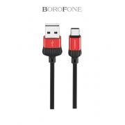 Кабель USB Borofone BX8 MaxSync Type-C 1м (Красный)