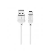 Кабель USB Borofone BX8 MaxSync Type-C 1м (Серебро)