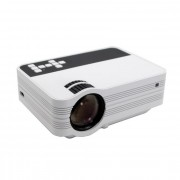 Мультимедийный мини LED проекторLed ProjectorUB10P (Белый)