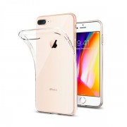 Силиконовый чехол Borofone BI1 iCrystal For iPhone 7 plus iPhone 8 plus Transparent (Прозрачный)