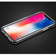 Силиконовый чехол Borofone BI1 iCrystal For iPhone X iPhone XS Transparent (Прозрачный)