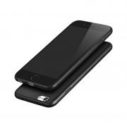 Силиконовый чехол Borofone BI2 GenFeel For iPhone 6/6s Transparent (Черный)