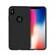 Силиконовый чехол Borofone BI2 GenFeel For iPhone X iPhone XS Transparent (Черный)