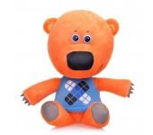 Мягкая игрушка в стиле Мимимишек Медвежонок Кеша 35 см (Оранжевый)