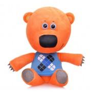 Мягкая игрушка Мимимишка Медвежонок Кеша 35 см (Оранжевый)