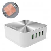 Сетевое зарядное устройство LDNIO A8101 8USB 10A (Серебро)