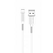 Кабель USB Borofone BX1 EZSync Lightning 1м (Белый)