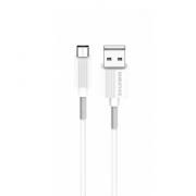 Кабель USB Borofone BX11 uJet Micro 1м (Белый)