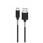 Кабель USB Borofone BX11 uJet Micro 1м (Черный)
