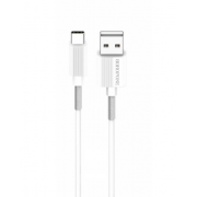 Кабель USB Borofone BX11 uJet Type-C 1м (Белый)