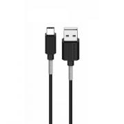 Кабель USB Borofone BX11 uJet Type-C (Черный)