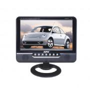 Портативный телевизор с цифровым DVB-T2 тюнером XPX EA-709D (Черный)