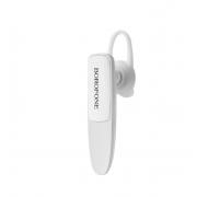 Беспроводные наушники Borofone BC12 JoyTalk Mono Business Bluetooth Earphone (Белый)