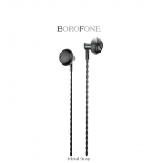 Наушники Borofone BM14 SkyMelody 3.5mm Wired Control Earphone (Серый)